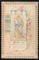 SAINT JOSEPH   BOUASSE  3825   12 X 7.5 CM - Images Religieuses