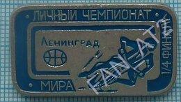 USSR / Badge / Soviet Union / RUSSIA  Motorcycling Moto Motor Racing. World Championship. Leningrad 1970s. - Pin