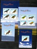 TANZANIA ,2012, BIRDS  2M/S+2S/S, MNH** - Birds