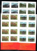 TANZANIA ,2011, ANIMALS, 4 BOOKLETS, MNH** - Stamps