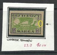 ESTLAND Estonia 1920 Michel 23 B + ERROR Abart * - Estland