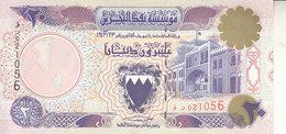 BAHRAIN 20 DINARS 1993 P-16 UN AUTHORIZED SECOND ISSUE UNC - Bahrein