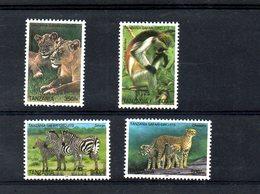 TANZANIA ,2005, ANIMALS, 4v. MNH** - Stamps