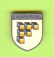 Pin's Ville Du Québec Fleurimont - 4FF23 - Villes