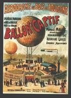 Ballon Captif - Aerodrome Du Bois De Boulogne / Paris - Montgolfières