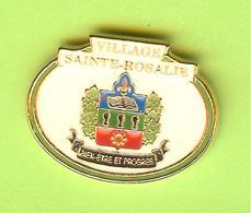 Pin's Ville Du Québec Sainte-Rosalie - 4FF27 - Villes