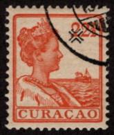 NAN SC #66 U 1915 Q Wilhelmina CV $2.25 - Curacao, Netherlands Antilles, Aruba