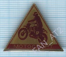 USSR / Badge / Soviet Union / UKRAINE. Motorcycling Motorcyclist 1970s - Badges