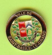 Pin's Ville Du Québec Saint-Bruno-De-Montarville (Moyen) - 5FF22 - Villes