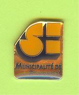 Pin's Ville Du Québec St-Honoré - 5FF28 - Villes