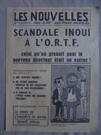 Ancien - Journal Publicitaire Pour Le Journal Des Pieds Nickelés Années 60 - Autres