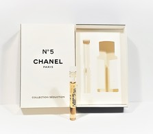 Miniatures De Parfum  CHANEL N° 5 Collection Séduction Élixir Sensuel 1.8 Ml De CHANEL + Boite - Modern Miniatures (from 1961)