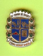 Pin's Ville Du Québec Saint-Simon De Bagot - 6FF06 - Villes