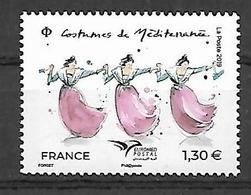 France 2019 - Costumes De Méditerranée ** (EUROMED) - France