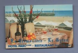 14 - HOTEL RESTAURANT LA CREMAILLERE 14470 COURSEULLES SUR MER - CARTE DE VISITE - Cartes De Visite