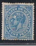 (3E 129) ESPAÑA // YVERT 6 IMPOT DE GUERRE  // EDIFIL 184  // 1876 - Impuestos De Guerra