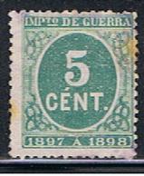 (3E 130) ESPAÑA // YVERT 19 IMPOT DE GUERRE  // EDIFIL 232  // 1897 - Impuestos De Guerra