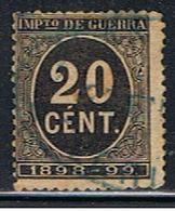 (3E 132) ESPAÑA // YVERT 26 IMPOT DE GUERRE  // EDIFIL 239  // 1898 - Impuestos De Guerra