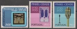 Portugal 1972 - Série Completa Pinhel A Cidade 1149 A 1151 - Set Complete Anniversary Of City Pinhel - Mint MNH** Neuf - Neufs