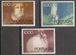 Portugal 1972 - Série Completa Publicação Lusiadas 1175 A 1177 - Set Complete Epos Os Lusiadas  - Mint MNH** Neuf - Neufs