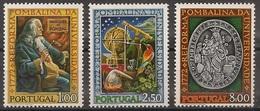 Portugal 1972 - Série Completa Reforma Pombalina 1164 1166 - Set Complete Pombal University Reformation- Mint MNH** Neuf - Neufs