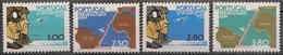Portugal 1972 - Série Completa Travessia Aérea Lisboa Rio Janeiro 1171 1174 - Set Complete First Fligh - Mint MNH** Neuf - Neufs