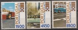 Portugal 1972 - Série Completa Congresso IRU 1155 A 1157 - Set Complete International Road Transport - Mint MNH** Neuf - Neufs
