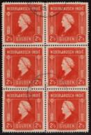 NTI SC #262 U B6 1945 Q Wilhelmina CV $4.50 - Indes Néerlandaises