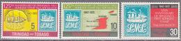 TRINIDAD AND TOBAGO    SCOTT NO. 216-18    MINT HINGED    YEAR  1972 - Trinidad & Tobago (1962-...)