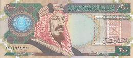 SAUDI ARABIA 200 RIYAL 1999 - 2000 P-28 COMMEMORATIVE KSA 100 YEARS UNC */* - Saudi Arabia