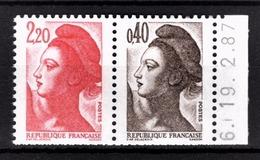 FRANCE  1985 - DUO Y.T. N° 2376B / CARNET - NEUFS** - France