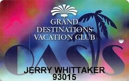 Oasis Casino Mesquite, NV - Grand Destinations Vacation Club Special Slot Card - Casino Cards