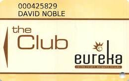 Eureka Casino Mesquite NV - 8th Issue Slot Card - Casino Cards
