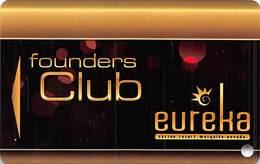 Eureka Casino Mesquite NV - BLANK Founders Club Slot Card - Casino Cards