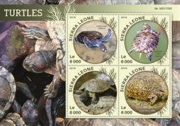 Sierra Leone   2016  Fauna  Turtles - Sierra Leone (1961-...)