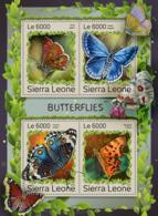 Sierra Leone 2016 Fauna Butterflies - Sierra Leone (1961-...)