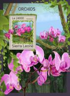 Sierra Leone 2016  Orchids - Sierra Leone (1961-...)