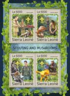 Sierra Leone 2016   Scouting & Mushrooms - Sierra Leone (1961-...)
