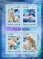 Sierra Leone 2016 Fauna  Polar Bears - Sierra Leone (1961-...)