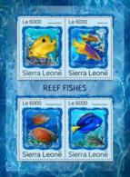 Sierra Leone 2016 Fauna Reef Fishes - Sierra Leone (1961-...)