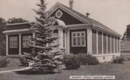 Emerson Manitoba Canada, Masonic Temple, Architecture, C1950s/60s Vintage Real Photo Postcard - Manitoba