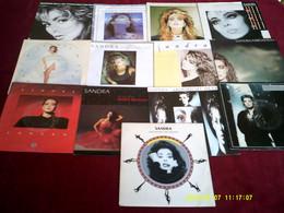 SANDRA  °  COLLECTION DE 15  /  45 TOURS - Colecciones Completas