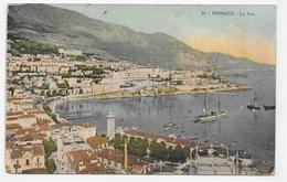 MONACO - N° 26 - LE PORT - CPA COULEUR NON VOYAGEE - Puerto