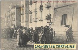 Campania-napoli Una Processione A Napoli Durante La Pioggia Di Cenere  Eruzione Vesuvio 1906 (f.piccolo/v.retro) - Napoli