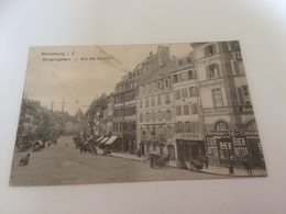 BX - 2400 - STRASBOURG - Rue Des Bouchers - Strasbourg