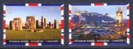 4.- UNITED NATIONS 2018 WORLD HERITAGE – United Kingdom - Unused Stamps