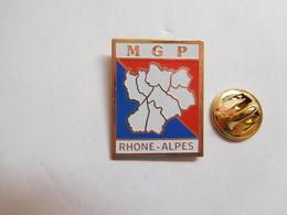Beau Pin's , Police , MGP Rhône Alpes , Mutuelle Des Policiers - Police