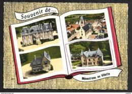 En Avion Au Dessus...  Menestreau En Vilette-Le Château De Vilette-L'Eglise-Les Sylphes-Le Ciran - Other Municipalities