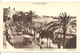 [06] Alpes Maritimes > Cannes  -promenade De La Croisette- Animation Bus En Beau Plan - Cannes