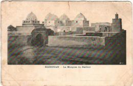 4NST 445 CPA - KAIROUAN - LA MOSQUEE DU BARBIER (INCISION) - Tunisia